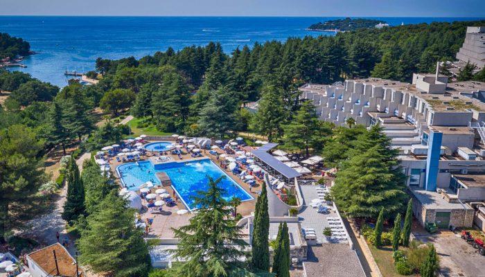 Valamar Crystal Hotel_air view
