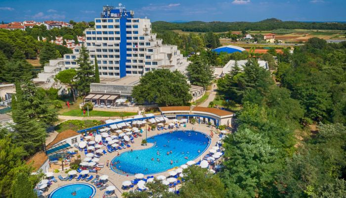 Valamar Diamant Hotel_air view