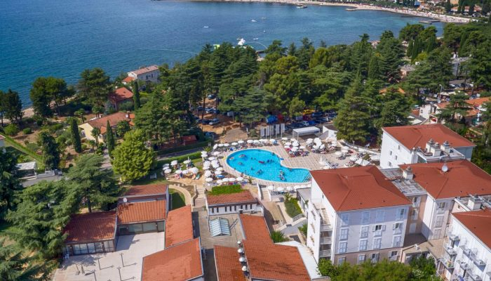 Valamar Pinia Hotel_ air view_2